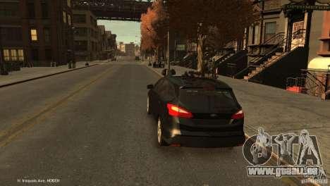 Ford Focus Universal Unmarked für GTA 4 hinten links Ansicht