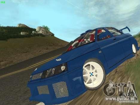 VAZ 2110 ADT Tuning pour GTA San Andreas vue de côté