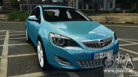 Opel Astra 2010 v2.0 pour GTA 4