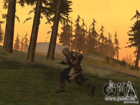 Connor From ACIII für GTA San Andreas fünften Screenshot