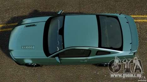 Ford Mustang Boss 302 2013 für GTA 4 rechte Ansicht