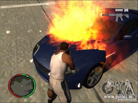 Auto-einen Feuerlöscher Löschmittel für GTA San Andreas