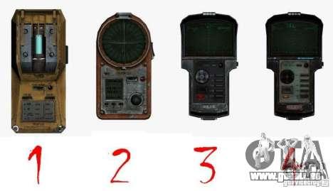 Detektor des S. t. A. l. k. e. R # 4 für GTA San Andreas