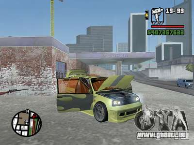 1111 OKA (tuning) pour GTA San Andreas salon