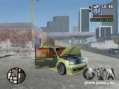 1111 OKA (tuning) pour GTA San Andreas salon