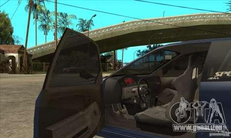 Honda Civic EG6 pour GTA San Andreas vue intérieure