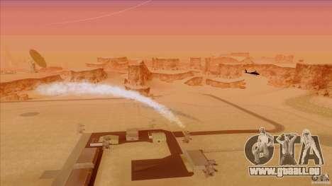 Piège à chaleur pour chasseur pour GTA San Andreas troisième écran