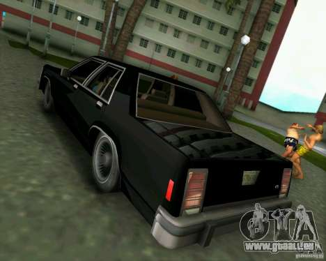 Ford Crown Victora LTD 1985 für GTA Vice City rechten Ansicht