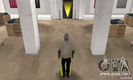 Jeans/Pantalons pour GTA San Andreas troisième écran