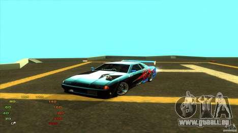 Pack Vinyl für Elegy für GTA San Andreas achten Screenshot