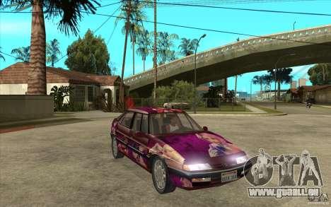 Citroen XM Custom pour GTA San Andreas vue arrière