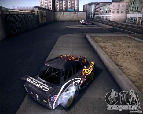 Trabant drag pour GTA San Andreas sur la vue arrière gauche