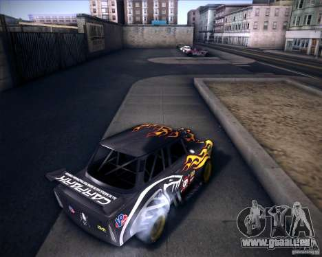 Trabant drag für GTA San Andreas zurück linke Ansicht