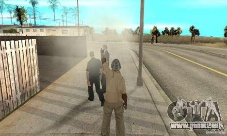 SuperClon (les gens de clonage dans SAN ANDREAS) pour GTA San Andreas septième écran