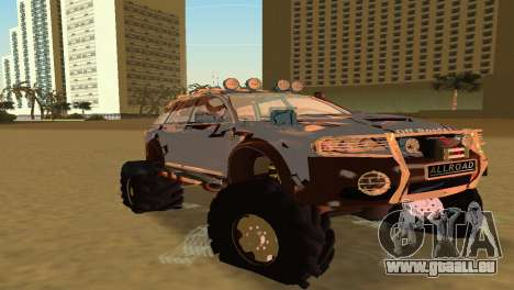 Audi Allroad Offroader für GTA Vice City linke Ansicht