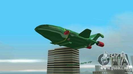 ThunderBird 2 pour GTA Vice City vue arrière