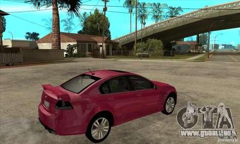 Chevrolet Lumina SS pour GTA San Andreas vue de droite