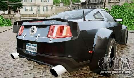 Ford Shelby GT500 pour GTA 4 est une gauche