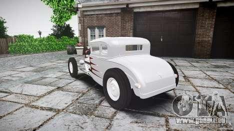 Ford Hot Rod 1931 für GTA 4 hinten links Ansicht