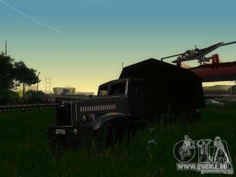 KrAZ-254 für GTA San Andreas linke Ansicht