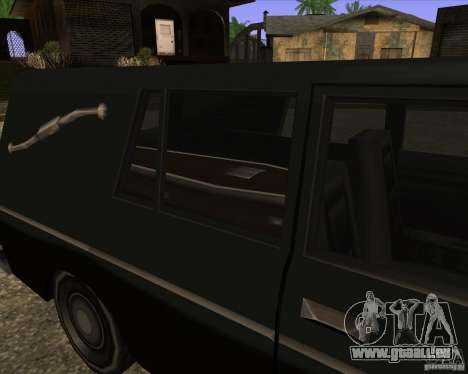 Coffin San Andreas Stories pour GTA San Andreas sur la vue arrière gauche