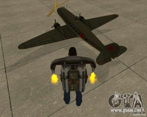 Li-2 pour GTA San Andreas laissé vue