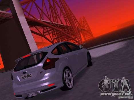 Ford Focus ST 2013 für GTA San Andreas rechten Ansicht