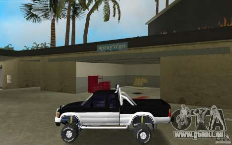 Toyota Hilux Surf für GTA Vice City linke Ansicht
