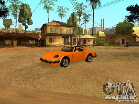Voitures de frai pour GTA San Andreas huitième écran