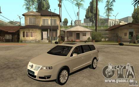Volkswagen Passat Variant 2010 für GTA San Andreas