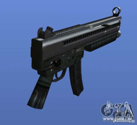 Heckler & Koch MP5 pour GTA 4 secondes d'écran