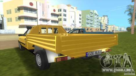 FSO Polonez Truck pour GTA Vice City sur la vue arrière gauche