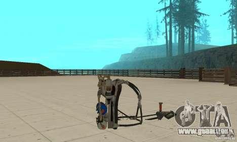 Un Jetpack nouveau pour GTA San Andreas cinquième écran