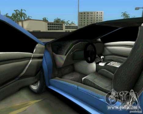 Lamborghini Diablo für GTA Vice City Innenansicht