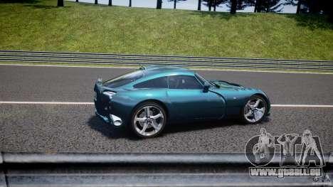 TVR Sagaris für GTA 4 Innen