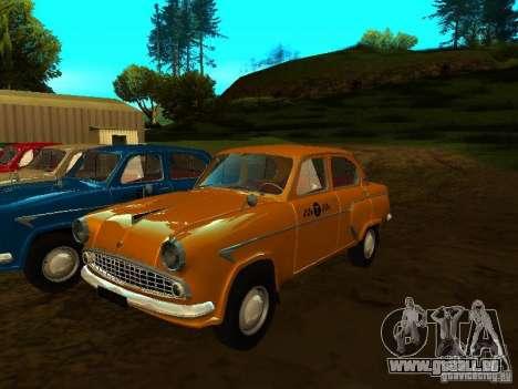 Moskvich 403 Taxi pour GTA San Andreas