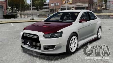 Mitsubishi Lancer Evolution X ToneBee Designs für GTA 4