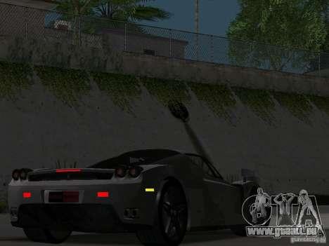 Ferrari Enzo Novitec V1 pour GTA San Andreas vue intérieure