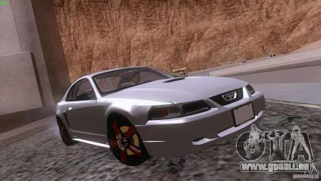 Ford Mustang GT 1999 pour GTA San Andreas moteur