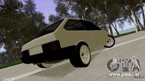 ВАЗ 2108 Sport pour GTA San Andreas laissé vue