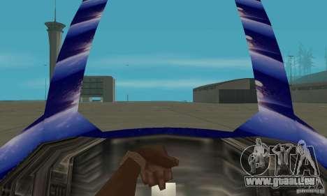 Chuckup pour GTA San Andreas vue arrière