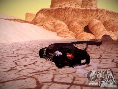 Lexus SC430 Daigo Saito für GTA San Andreas zurück linke Ansicht