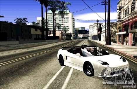 Acura NSX Tuned pour GTA San Andreas