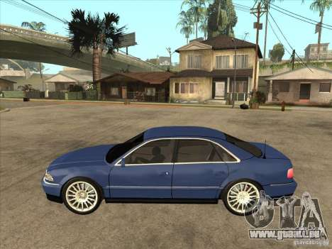 Audi A8 pour GTA San Andreas laissé vue
