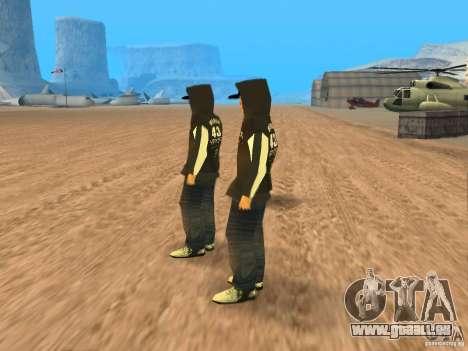 Ken Block Family für GTA San Andreas zweiten Screenshot