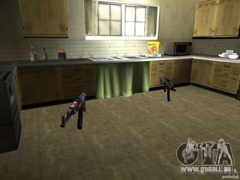 Pak version domestique armes 2 pour GTA San Andreas huitième écran