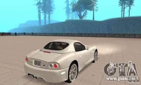 Panoz Esperante GTLM 2005 pour GTA San Andreas laissé vue