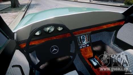 Mercedes-Benz 280SE W116 für GTA 4 Rückansicht