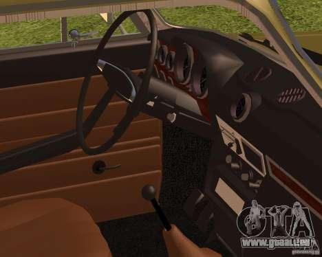 VAZ 2106 rétro pour GTA San Andreas sur la vue arrière gauche