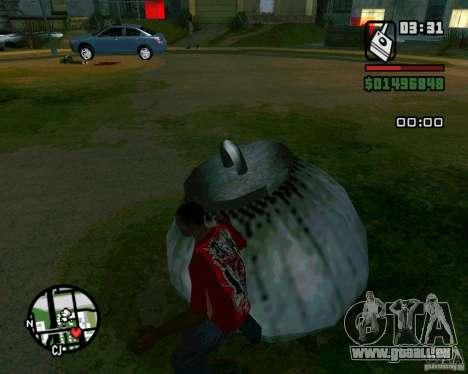 Bombe pour GTA San Andreas